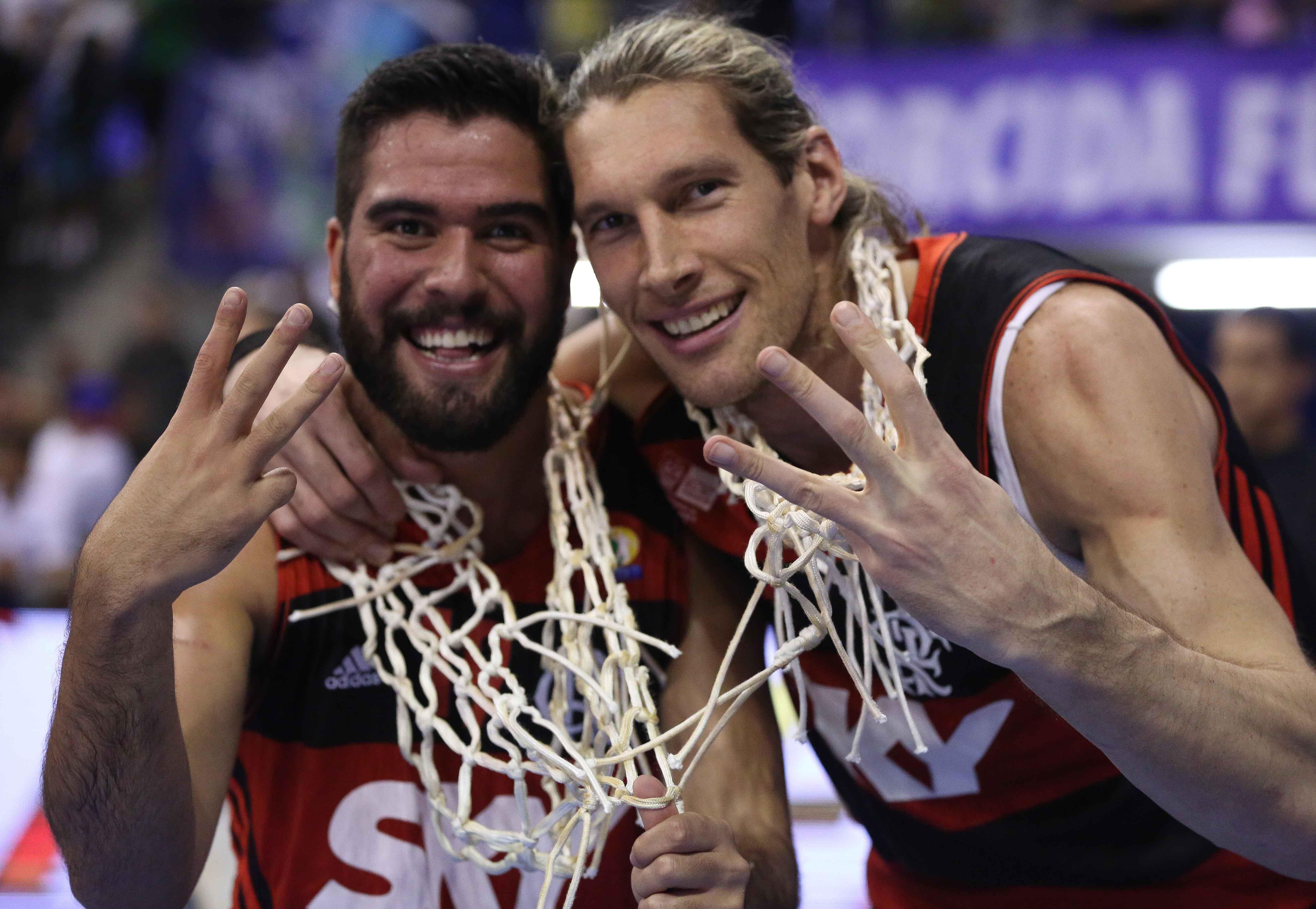 Gegê e Herrmann, do Flamengo
