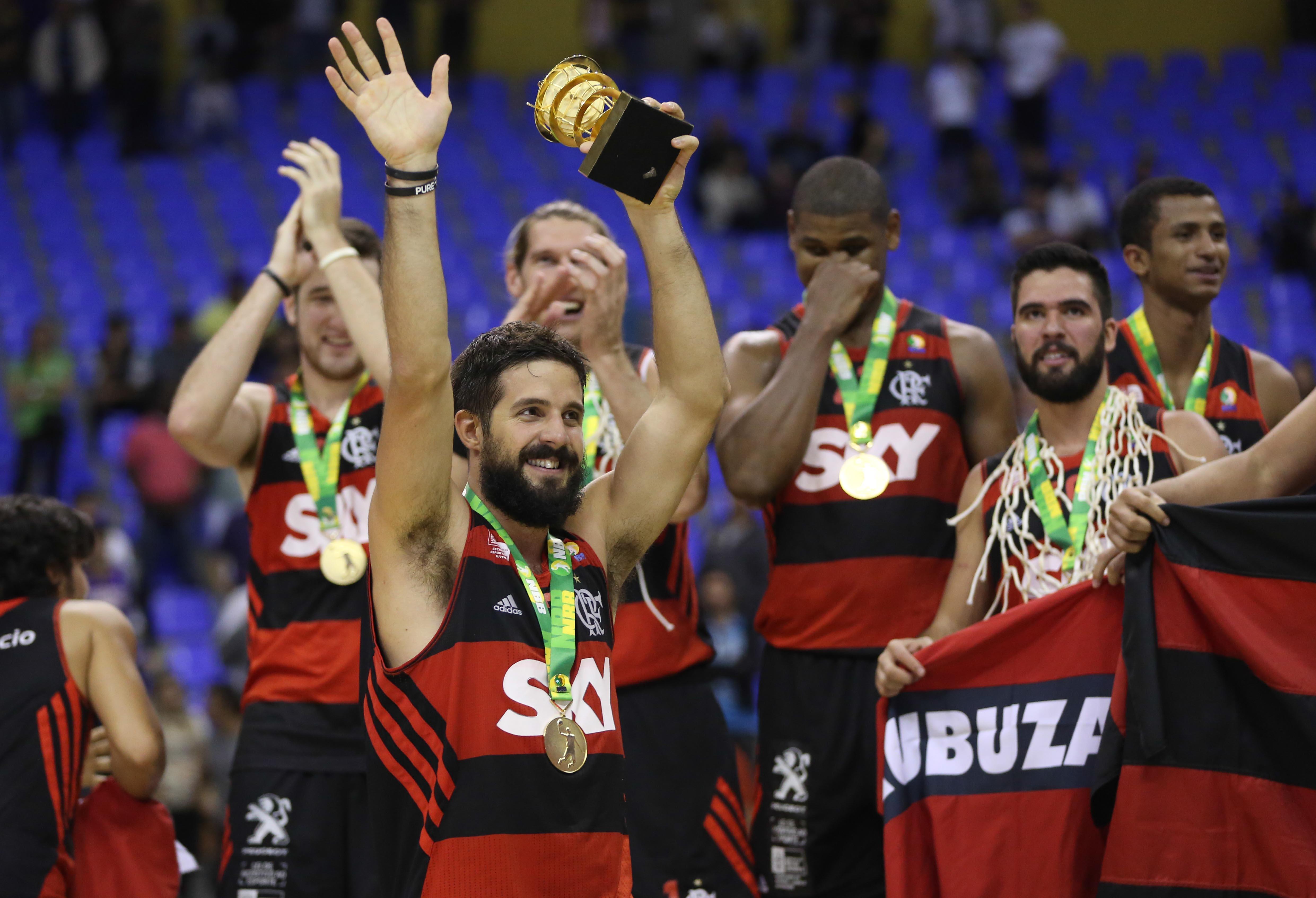 Comemoração Laprovittola, do Flamengo