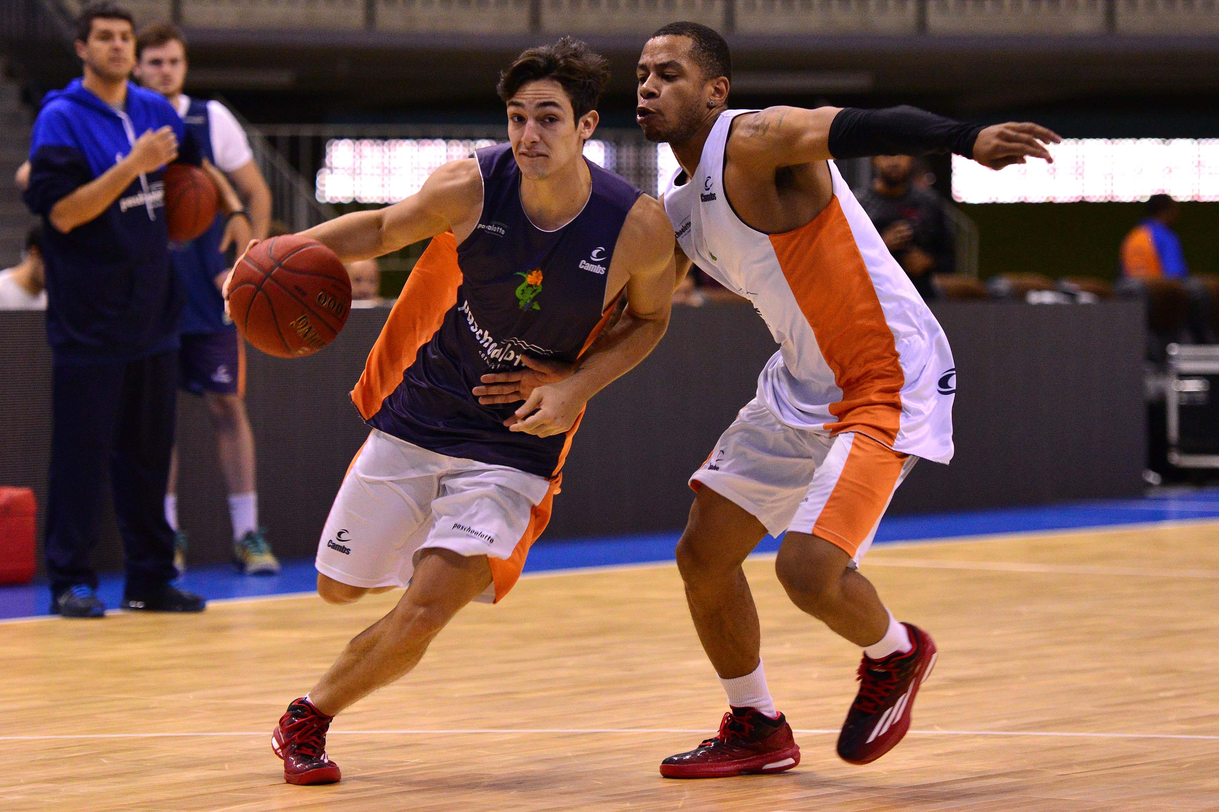 Ricardo Fischer e Carioca, do Bauru