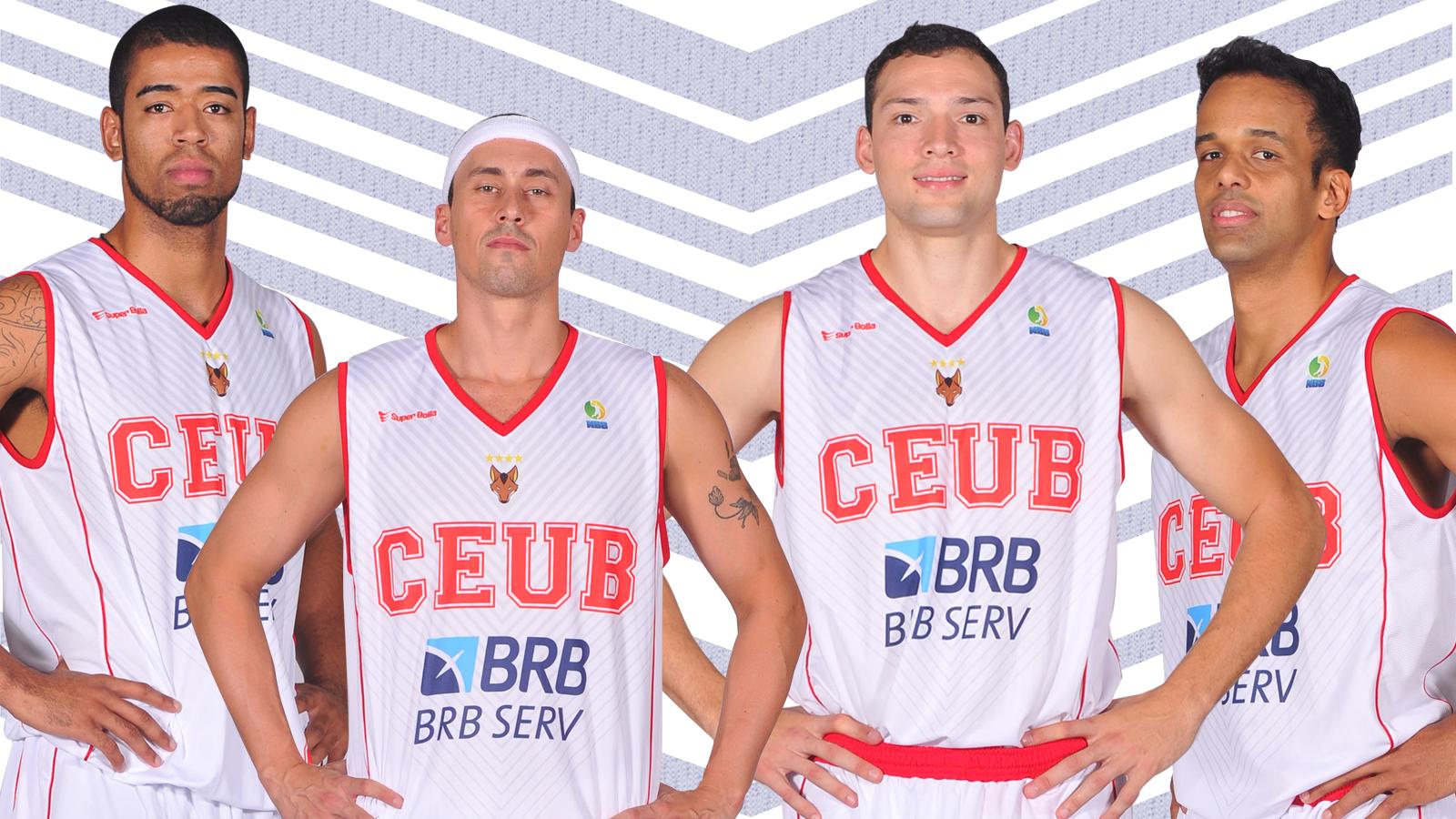 Quatro dos principais destaques do Brasília no NBB 7 já estão confirmados para a próxima temporada (Arte/LNB)