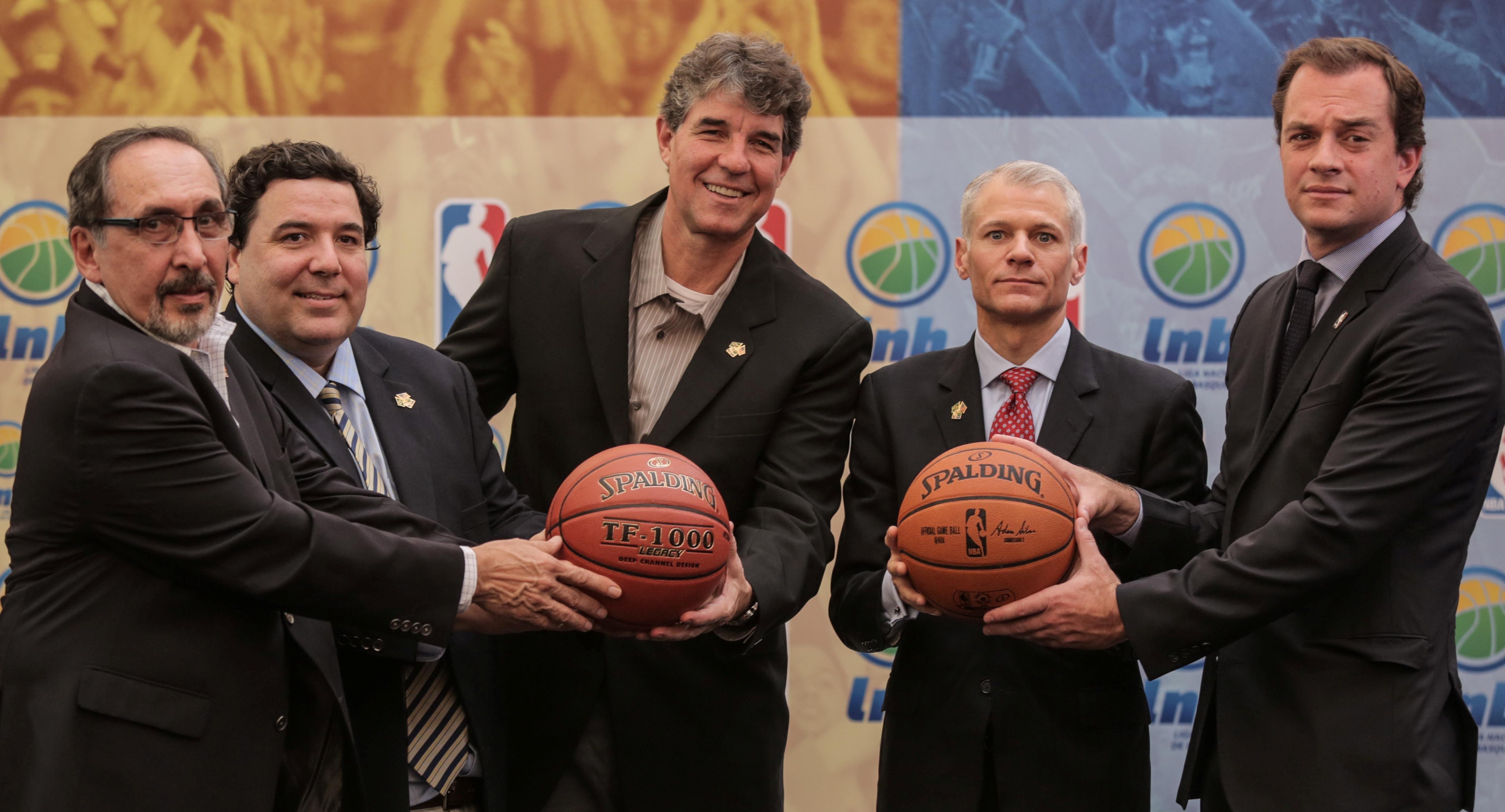 Histórica parceria entre LNB e NBA será um dos assuntos (João Pires/LNB)