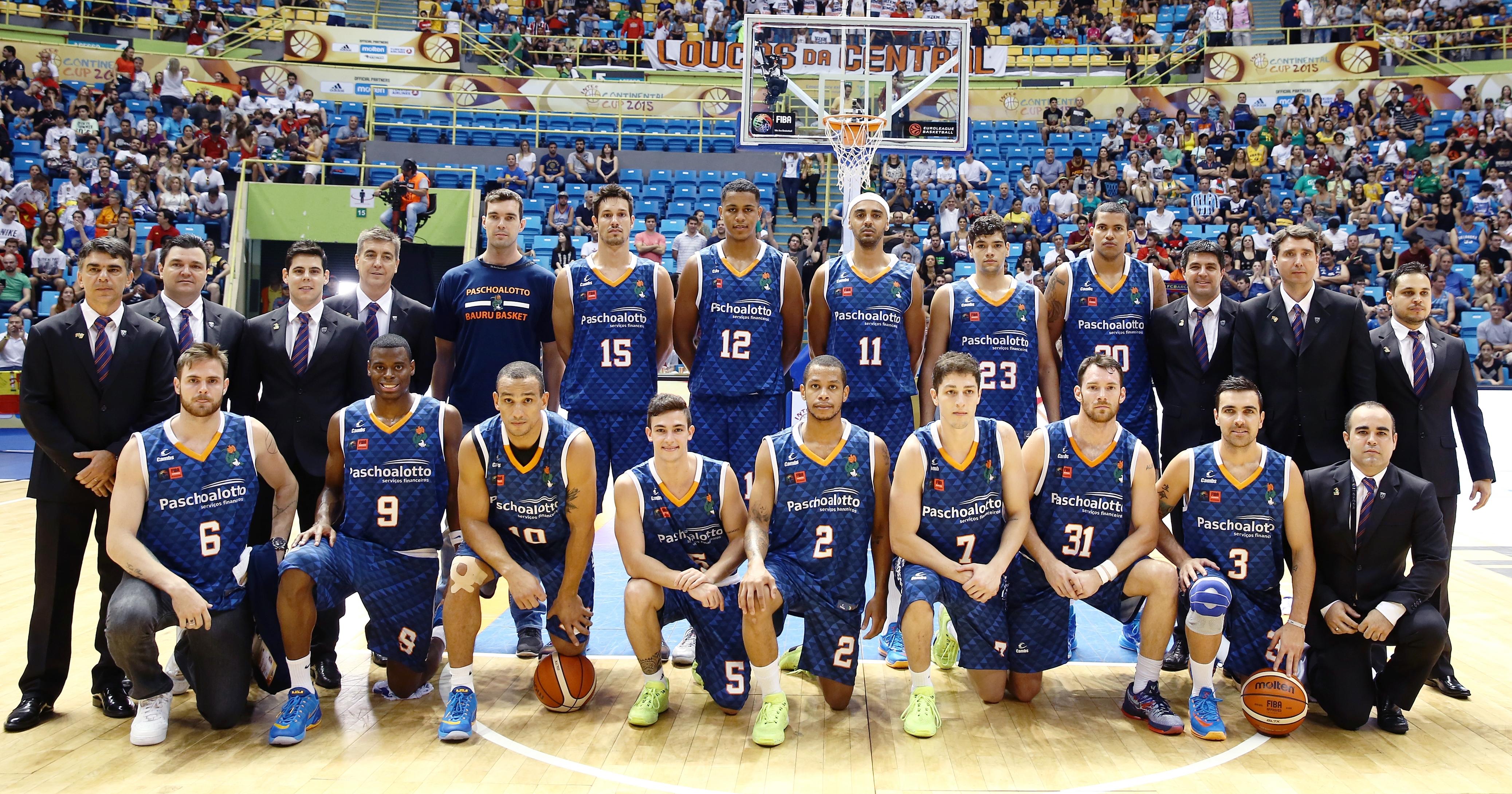 Com derrota na segunda partida da Copa Intercontinental, o Bauru ficou com o vice-campeonato Mundial de Clubes (José Jiménez Tirado/FIBA Americas)