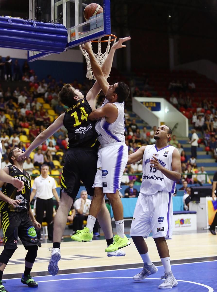 Autor de 15 pontos, Filipin bem que tentou, mas não conseguiu a virada para o Mogi (Jose Jimenez Tirado/FIBA Américas)