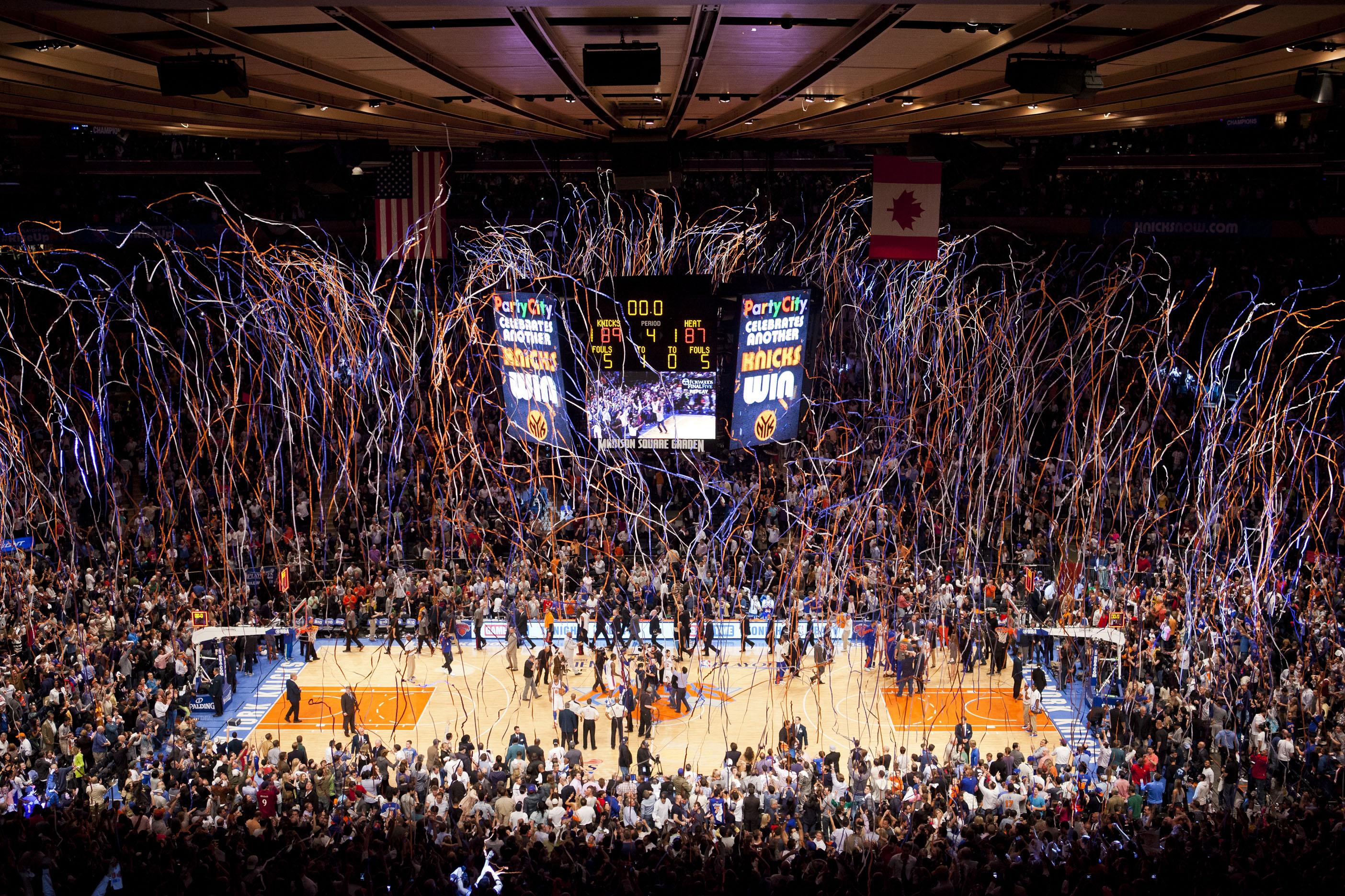 2012 NBA Playoffs - New York Knicks vs Miami Heat - Game 4