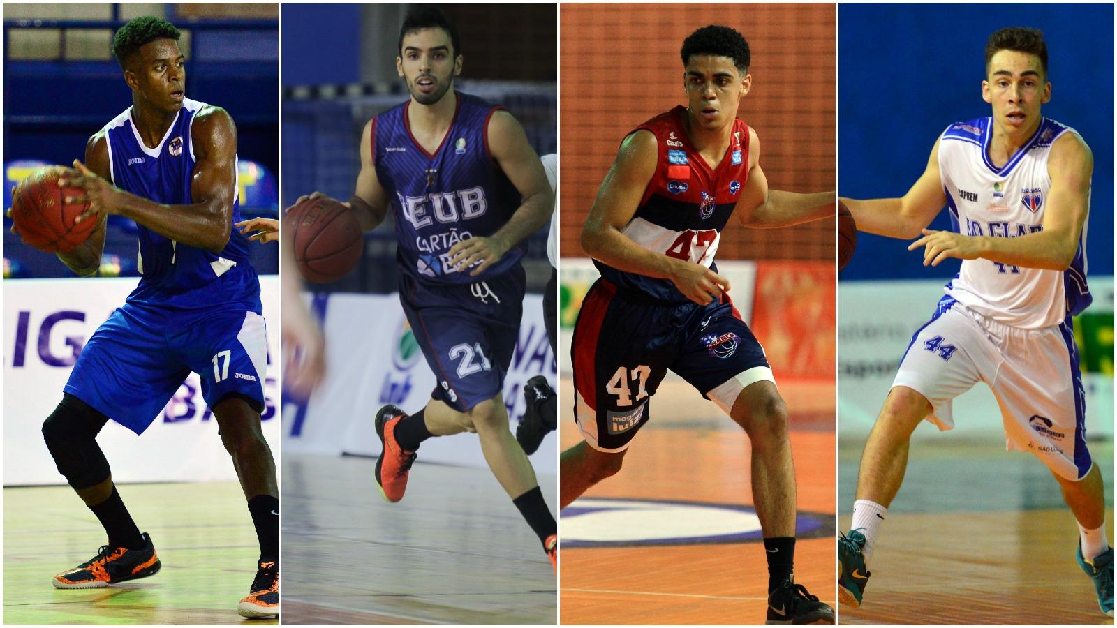 Pinheiros, Brasília, Franca e Rio Claro: quem avança ao Final Four? (Montagem/LNB)
