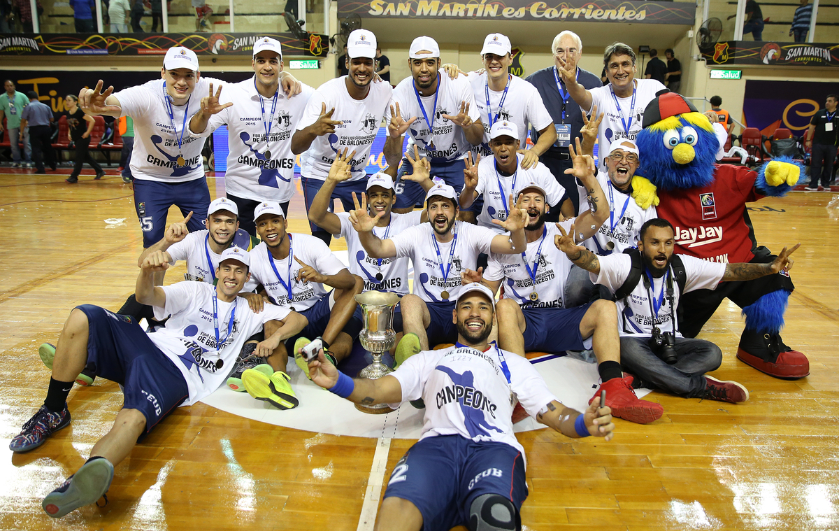 Brasília campeão da Liga Sul-Americana 2015