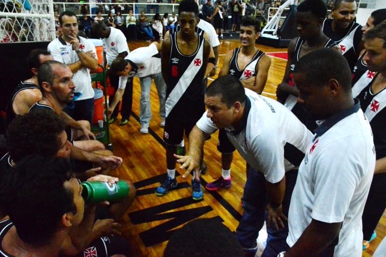 Christiano Pereira e equipe do Vasco