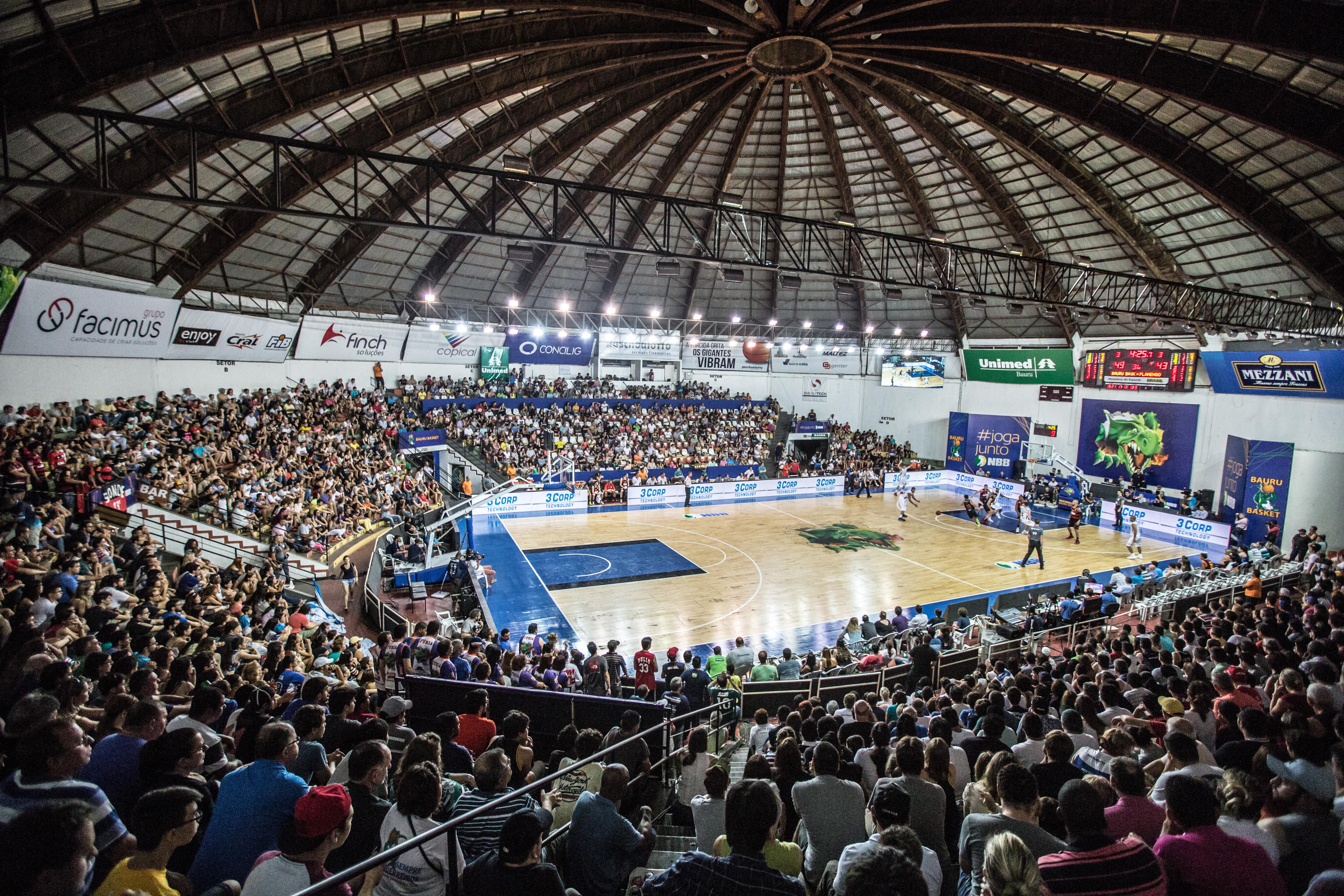 Panela de Pressão será uma das sedes da fase semifinal da Liga das Américas 2016 (Caio Casagrande/Bauru Basket)