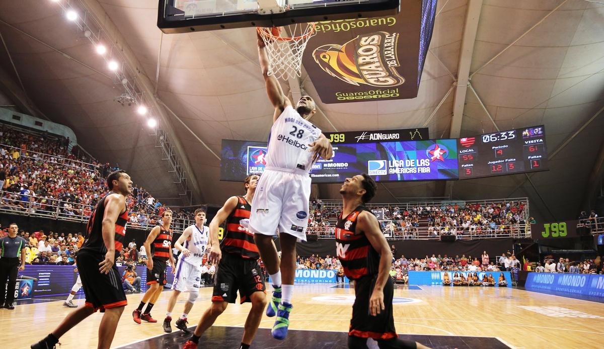 No Domo Bolivariano, Mogi, de Lucas Mariano, venceu a disputa brasileira pelo bronze (José Jimenez Tirado/FIBA Américas)