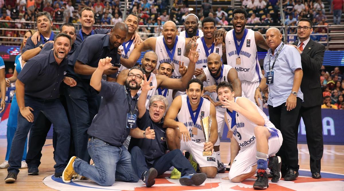 Mogi garantiu a medalha de bronze logo em sua primeira aparição na Liga das Américas (José Jimenez Tirado/FIBA Américas)