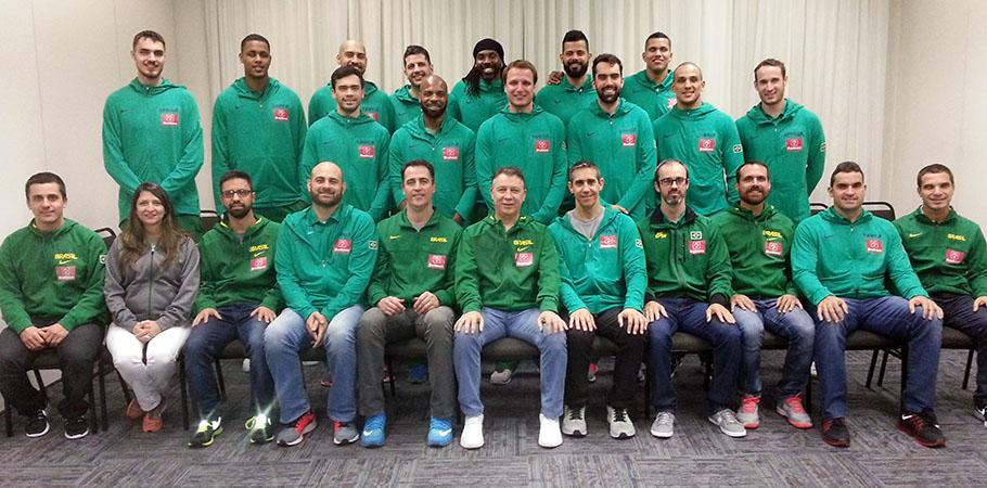 Seleção Brasileira terá mais de um mês de preparação até os Jogos Olímpicos (Divulgação/CBB)