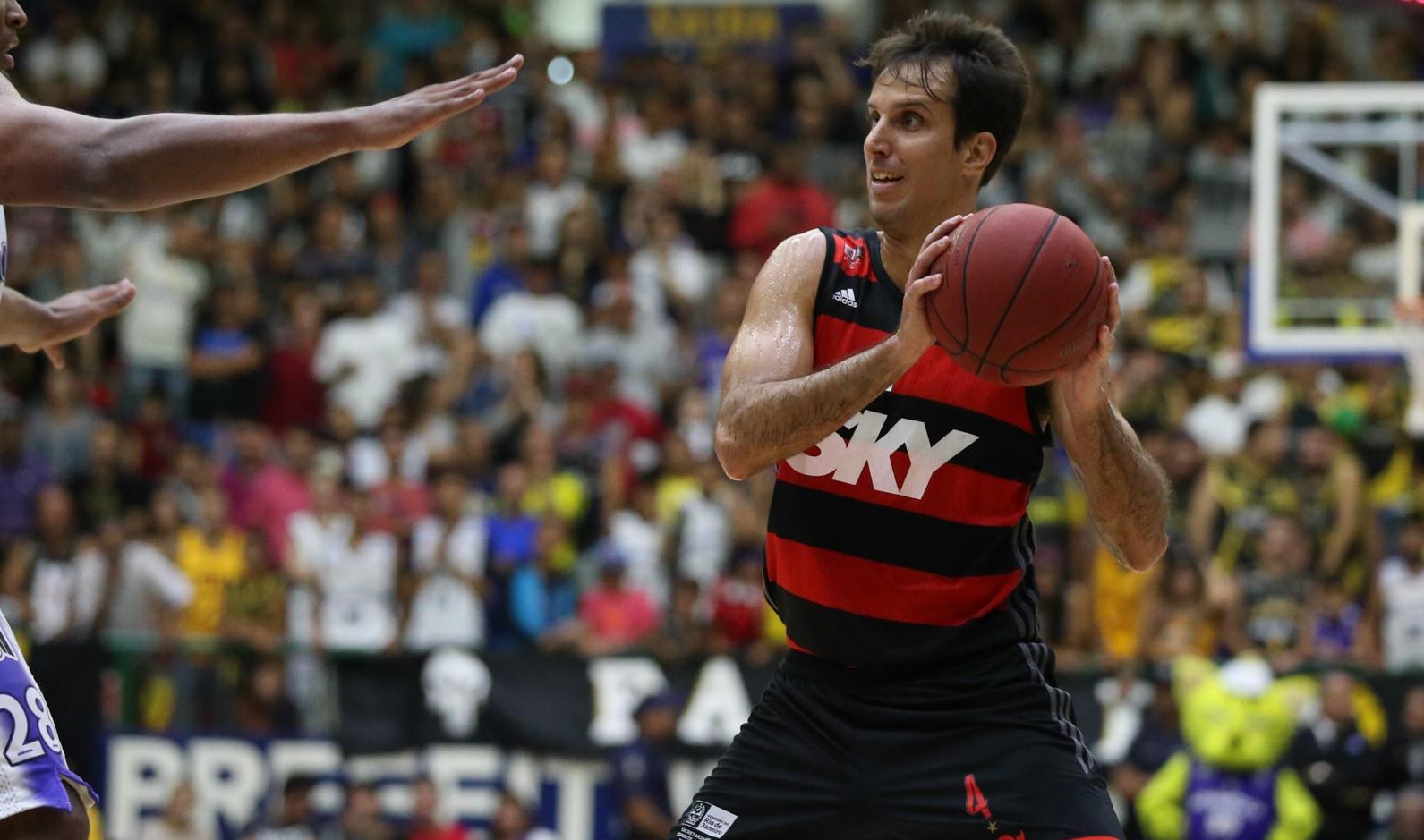 Mogi das Cruzes (SP) - Mogi das Cruzes e Flamengo se enfrentam na quarta partida da série semifinal do NBB CAIXA. ©Luiz Pires/LNB