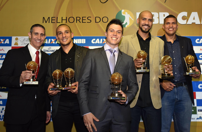 José Neto, Alex, Davi, Marquinhos e Hettsheimeir