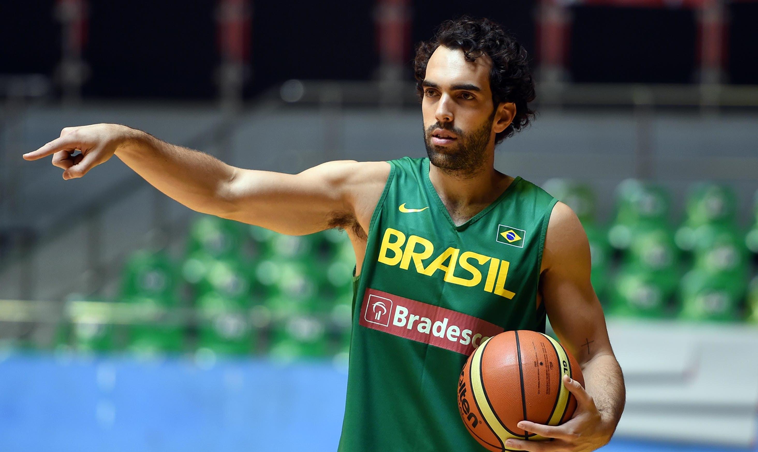 Desafio BRA de Basquete - Desafio BRA de Basquete, treino da selecao brasileira de Basquete. - Brasil - df - Brasilia - Ginasio Nilson Nelson -  - www.inovafoto.com.br - id:98632