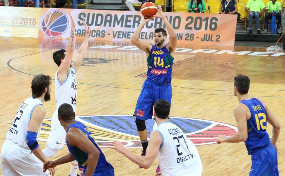 Léo Meindl, da Seleção Brasileira