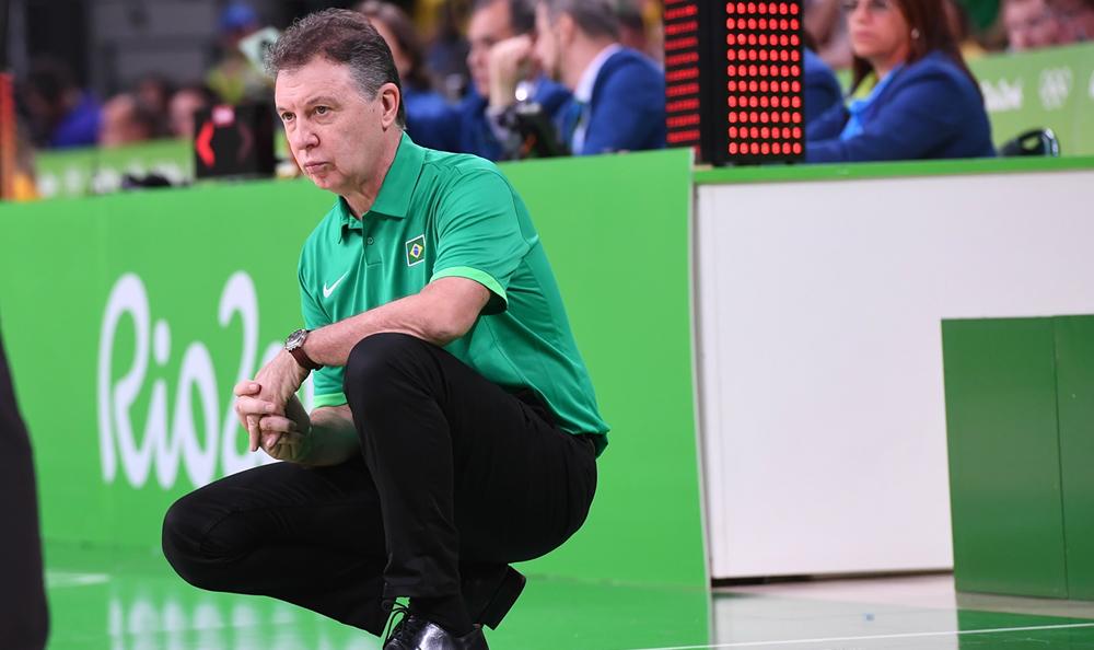 Rubén Magnano, técnico da Seleção Brasileira