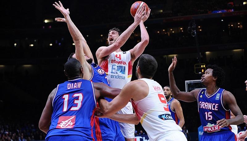 Seis jogos decisivos em sete anos: Espanha e França protagonizam talvez a maior rivalidade do basquete na atualidade (FIBA/Divulgação)