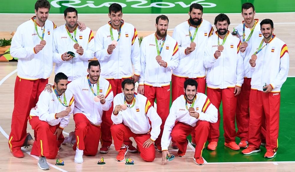 Espanha conquistou sua terceira medalha olímpica consecutiva (FIBA/Divulgação)