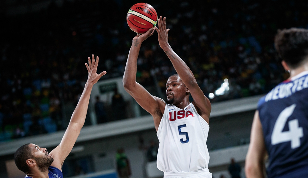 Kevin Durant, dos Estados Unidos