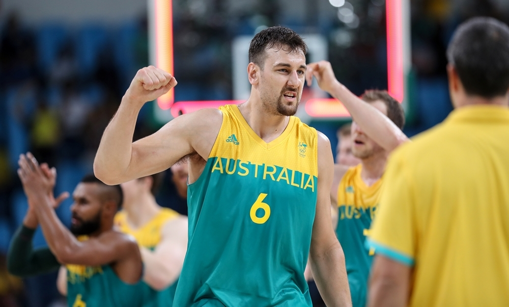 Sensação da primeira fase, Austrália desafiará tradicional Lituânia nas quartas (FIBA/Divulgação)
