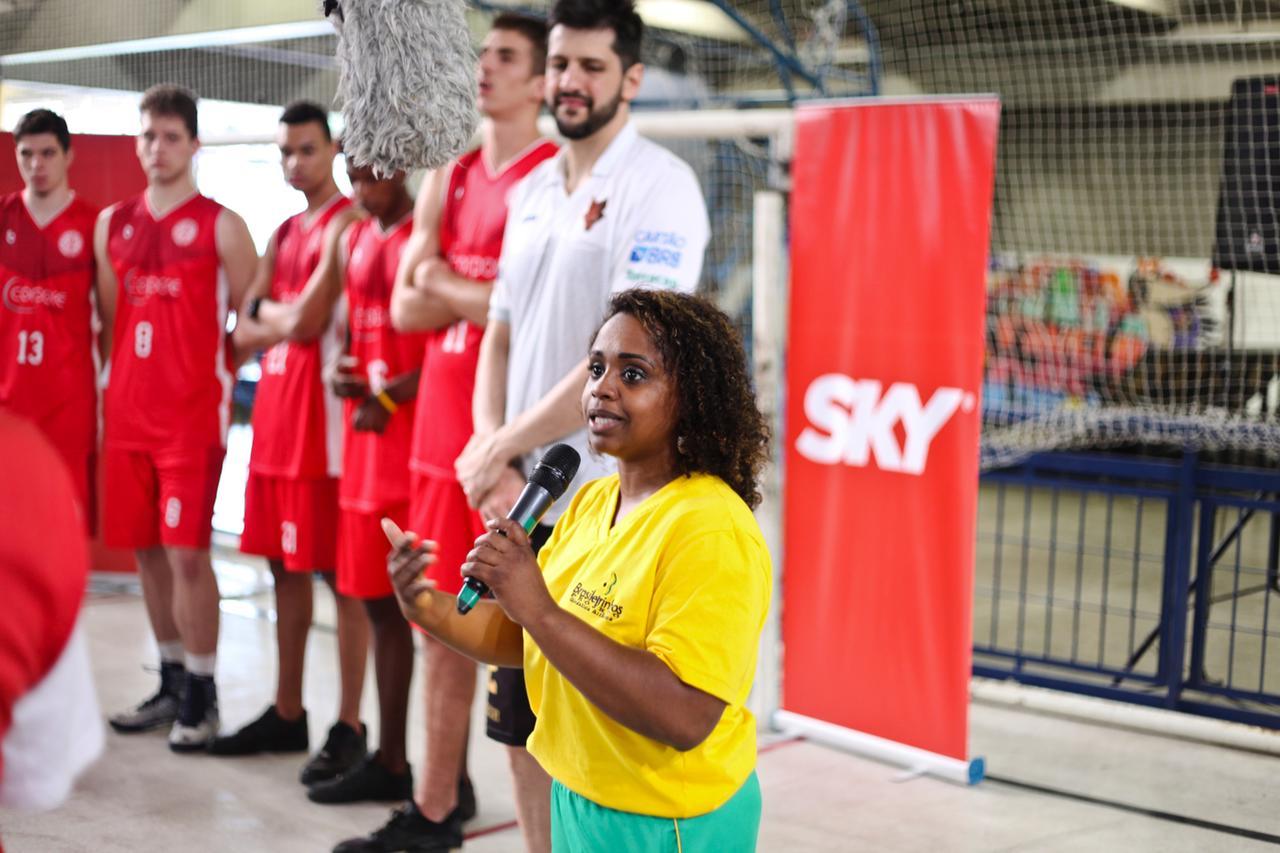 Daiane dos Santos, ex-ginasta, idealizadora do Projeto Brasileirihos