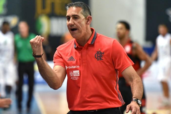 José Neto, técnico do Flamengo