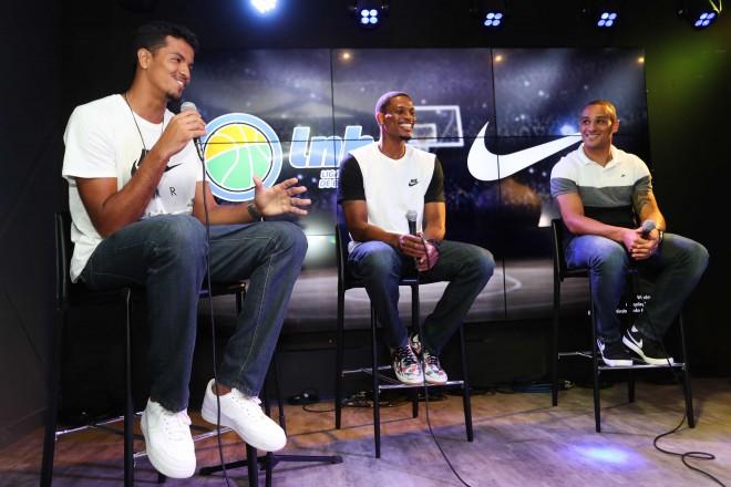 Evento de parceria entre LNB e Nike