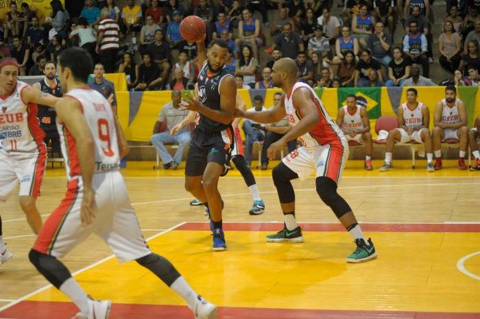 Maique, da Liga Sorocabana, e Lucas Mariano, do Brasília