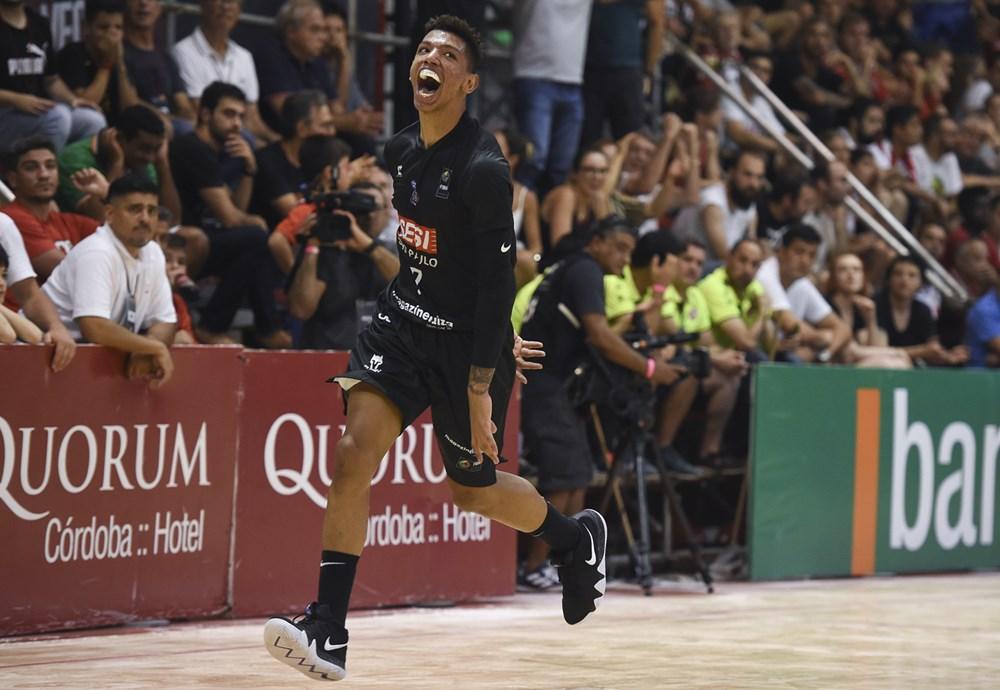 Didi teve mais uma atuação brilhante na Final da Liga Sul-Americana (FIBA  Américas Divulgação) bb5970e9d73fd