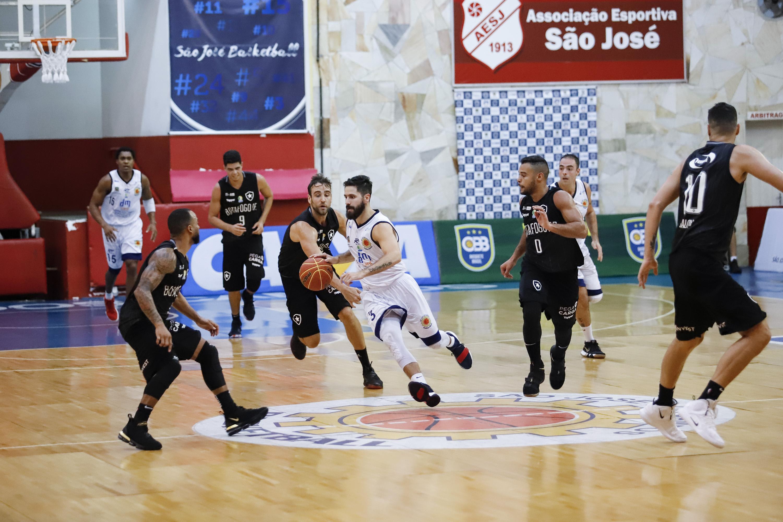 795dcd98e504b São José e Botafogo farão o Jogo 1 da série melhor de 3 nesta segunda-feira  (Wilian Oliveira Divulgação)